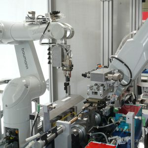Fully-automated measuring station