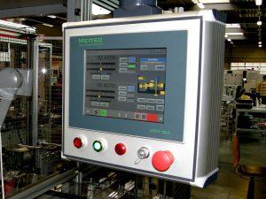 Control panel measuring machine