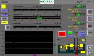 "Screen ""Measuring"" with In- und Postprocessmeasuring"