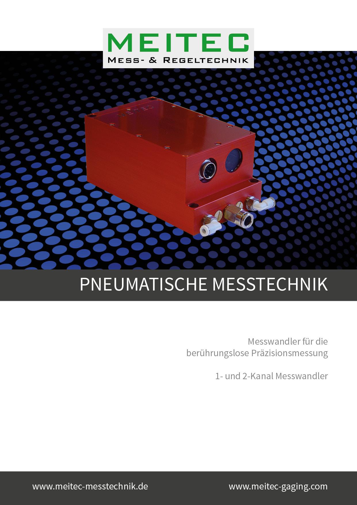 Produktblatt Pneumatische Messtechnik