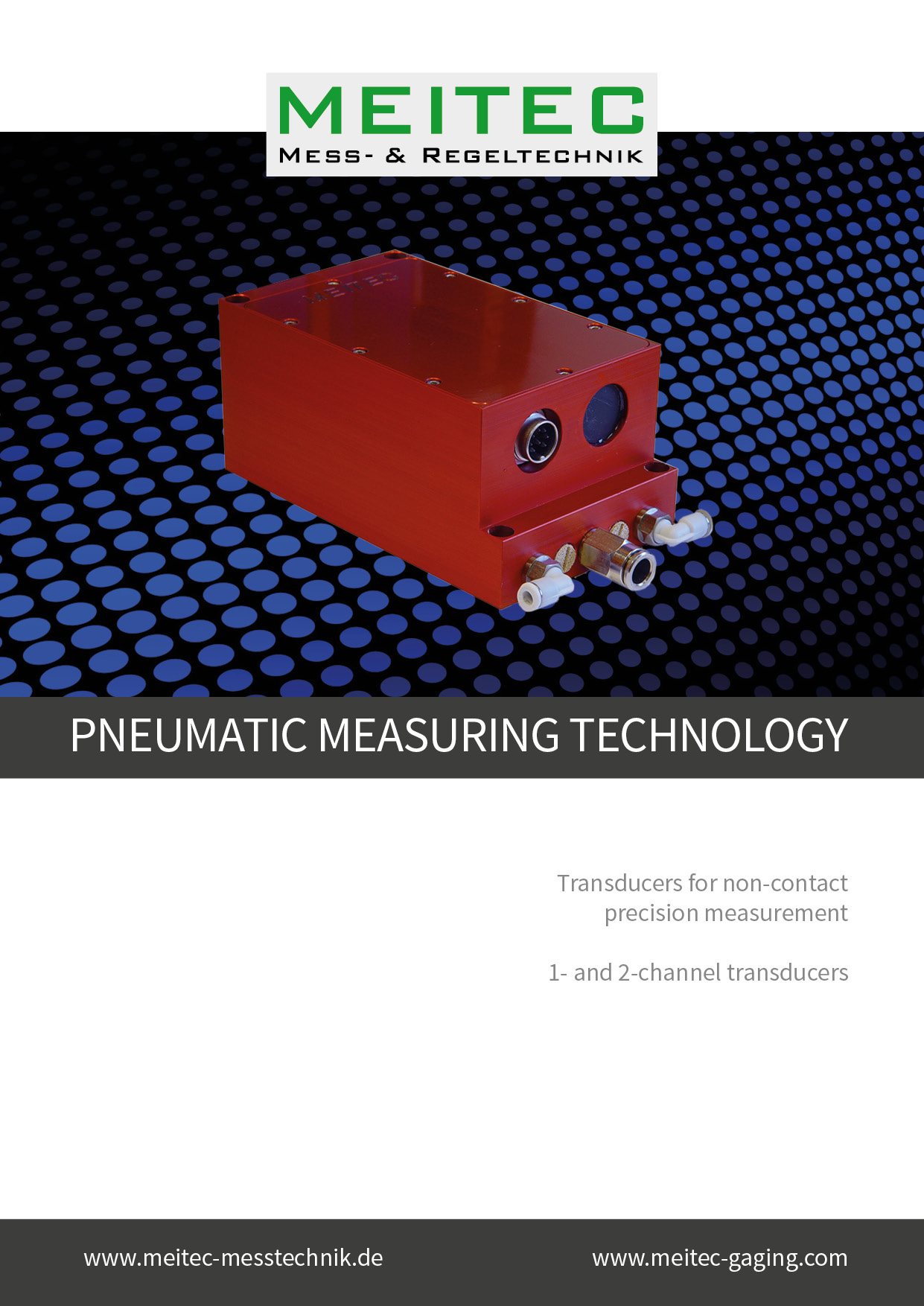 product sheet pneumatic measuring technology